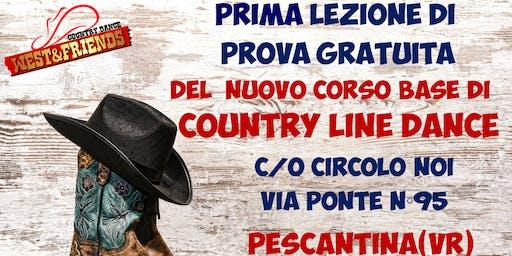 LEZIONE DI PROVA GRATUITA A PESCANTINA (VR) - COUNTRY LINE DANCE