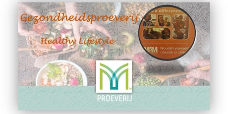 Gezondheidsproeverij- Gezonde lifestyle tickets