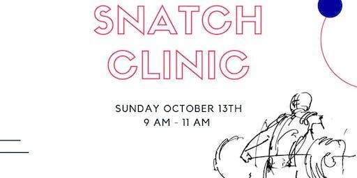 4 Star Strength Snatch Clinic