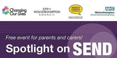 Spotlight on SEND tickets