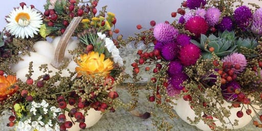 Pumpkin Floral Workshop with Viavi Flower Farm