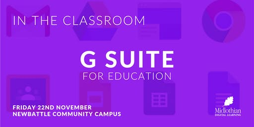 In the Classroom: G Suite for Education
