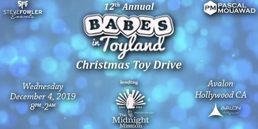 12th Annual  'Babes in Toyland' Christmas Toy Drive