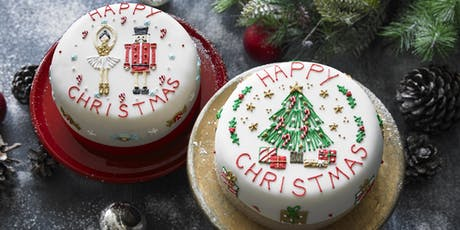 Biscuiteers School of Icing - Christmas Cake - Notting Hill tickets