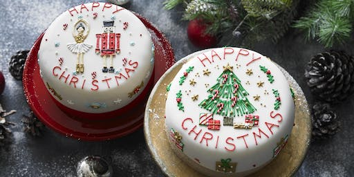 Biscuiteers School of Icing - Christmas Cake - Notting Hill
