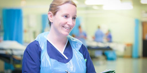 Theatres Nurse and Operating Department Practitioner recruitment day