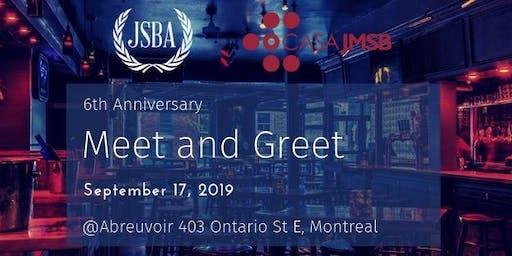 JSBA: 6th Anniversary - Meet and Greet
