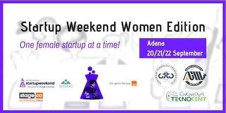Startup Weekend Adana - Women Edition! tickets