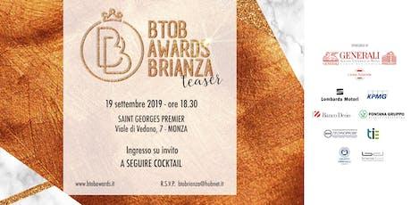 TEASER BtoB Awards Brianza biglietti