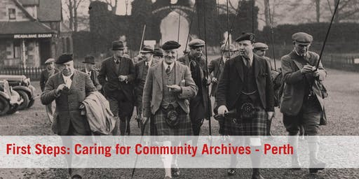 First Steps: Caring for Community Archives - Perth