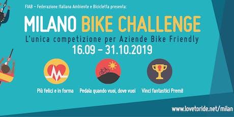 Presentazione Milano Bike Challenge 2019 biglietti
