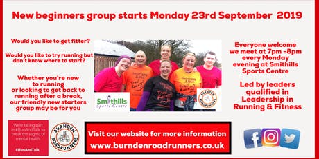 New Beginners running group with Burnden Road Runners tickets