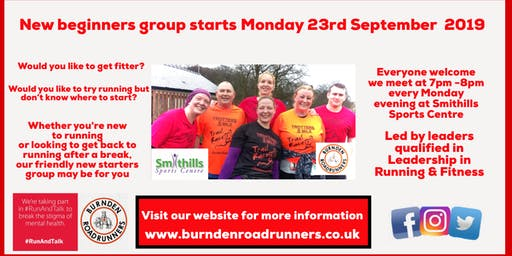 New Beginners running group with Burnden Road Runners