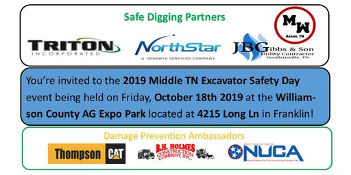 2019 Middle TN Excavator Safety Day
