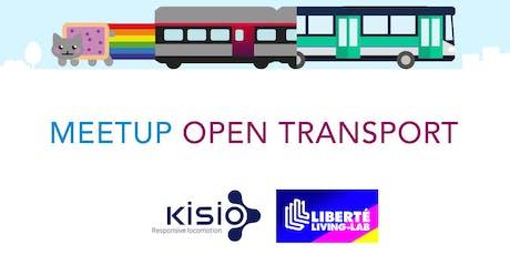 Meetup Open transport Paris billets
