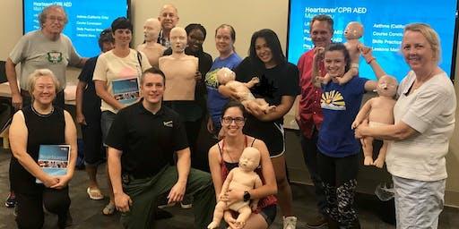Free Community CPR Class - Class Full