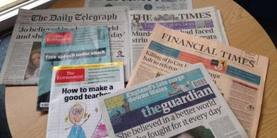How to find & use Newspapers (FT.com & The Economist)