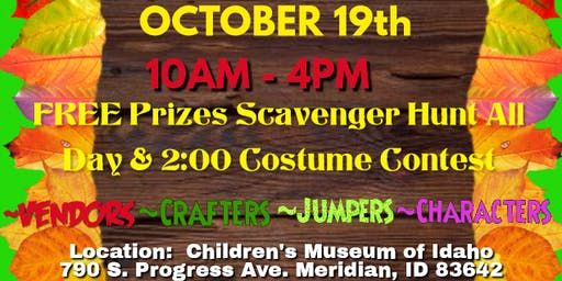 Family Fun Harvest Party at Children's Museum of Idaho