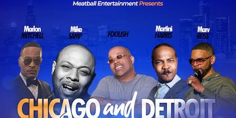 Chicago & Detroit Comedy Colabboration  tickets