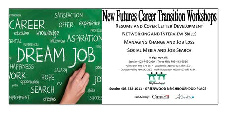 New Futures Career Transition Workshop tickets