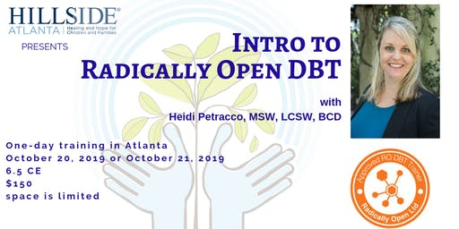 Intro to Radically Open DBT (RO-DBT)