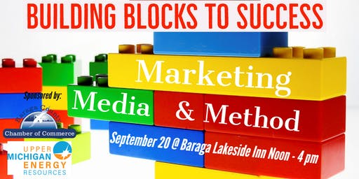 Building Blocks to Success: Marketing, Media & Method
