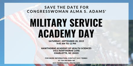 Congresswoman Adams' Military Service Academy Day tickets