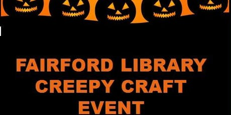 Fairford Library - Creepy Craft Event tickets