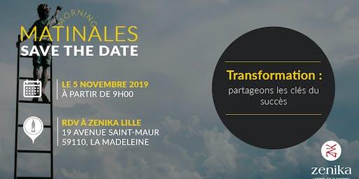 Matinale Transformation : partageons les clés du succès - Lille