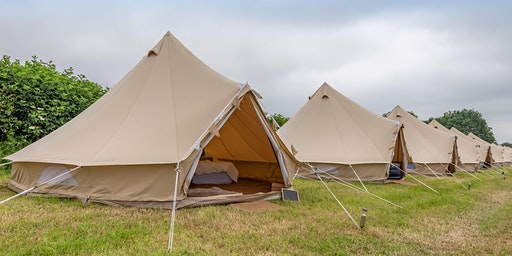 Luxury Glamping at Back to the 80s and 90s Festival 2020