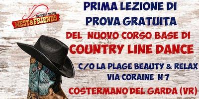 LEZIONE DI PROVA GRATUITA A COSTERMANO (VR) - COUNTRY LINE DANCE