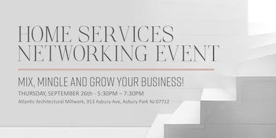 Home Services Networking Event