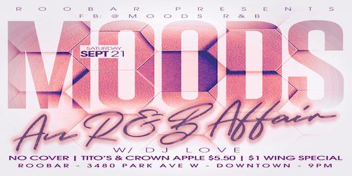 MOODS An R&B Affair September