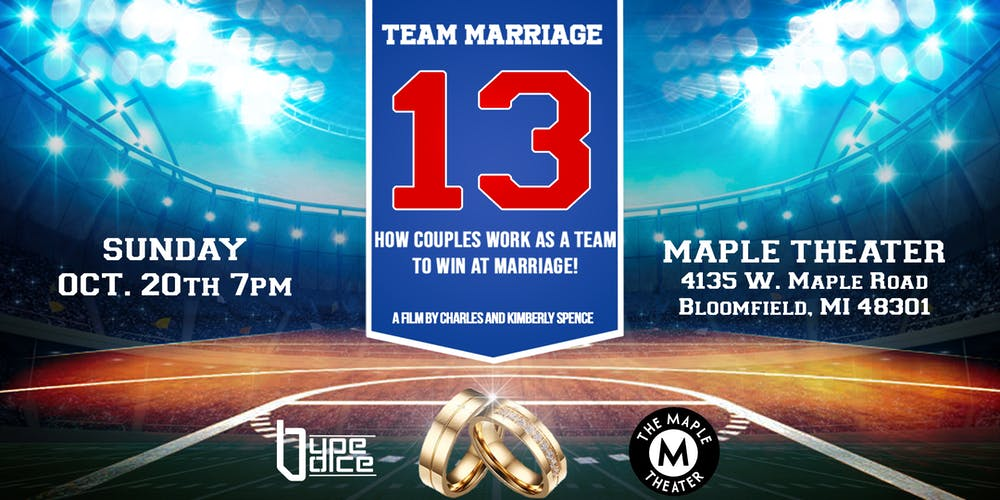Team Marriage Movie Premiere Tickets, Sun, Oct 20, 2019 at 7