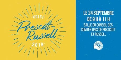 Voici Prescott-Russell 2019 tickets