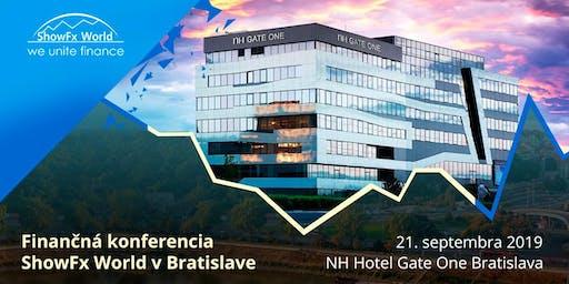 Finančná konferencia SHOWFX WORLD