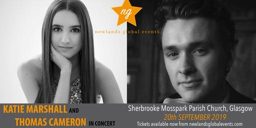 Katie Marshall and Thomas Cameron In Concert