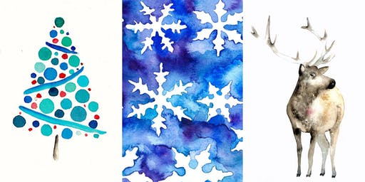 Watercolor Holiday Card Painting with Michelle Detering