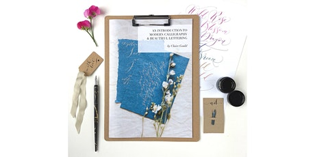 Modern calligraphy workshop with delicious cake and tea! tickets
