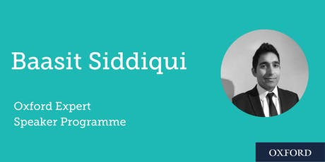 How digital resources can support Social Mobility with Baasit Siddiqui (Durham) tickets