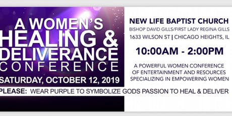 A Woman's Healing and Deliverance Conference tickets