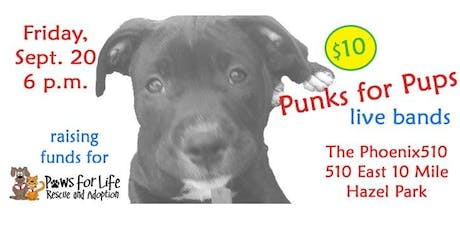 Punks for Pups: live bands raising money for homeless pets tickets