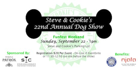 Steve & Cookie's Annual Dog Show tickets