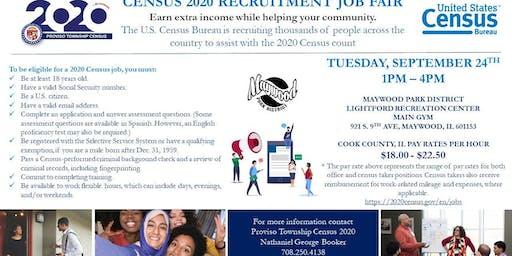 Census 2020 Recruitment Job Fair in Proviso - RSVP TODAY