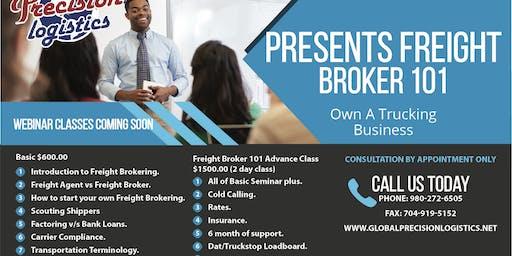 Freight Broker 101 Advance 2 day Seminar