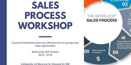 Sales Process Workshop tickets