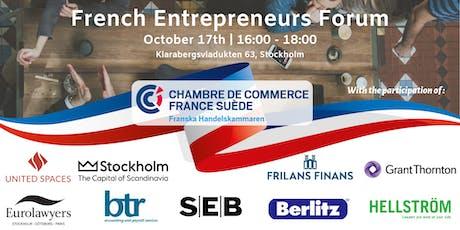 French Entrepreneurs Forum tickets