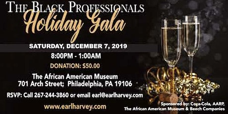 Earl Harvey Black Professionals Holiday Gala tickets