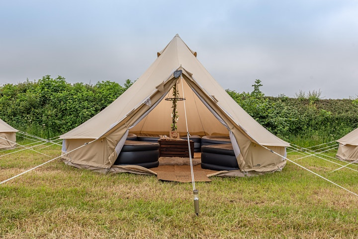 Luxury Glamping at Back to the 80s and 90s Festival 2021 image