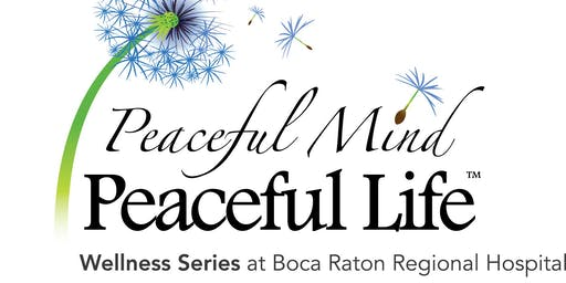 PEACEFUL MIND PEACEFUL LIFE WELLNESS SERIES: MEDITATION COURSE